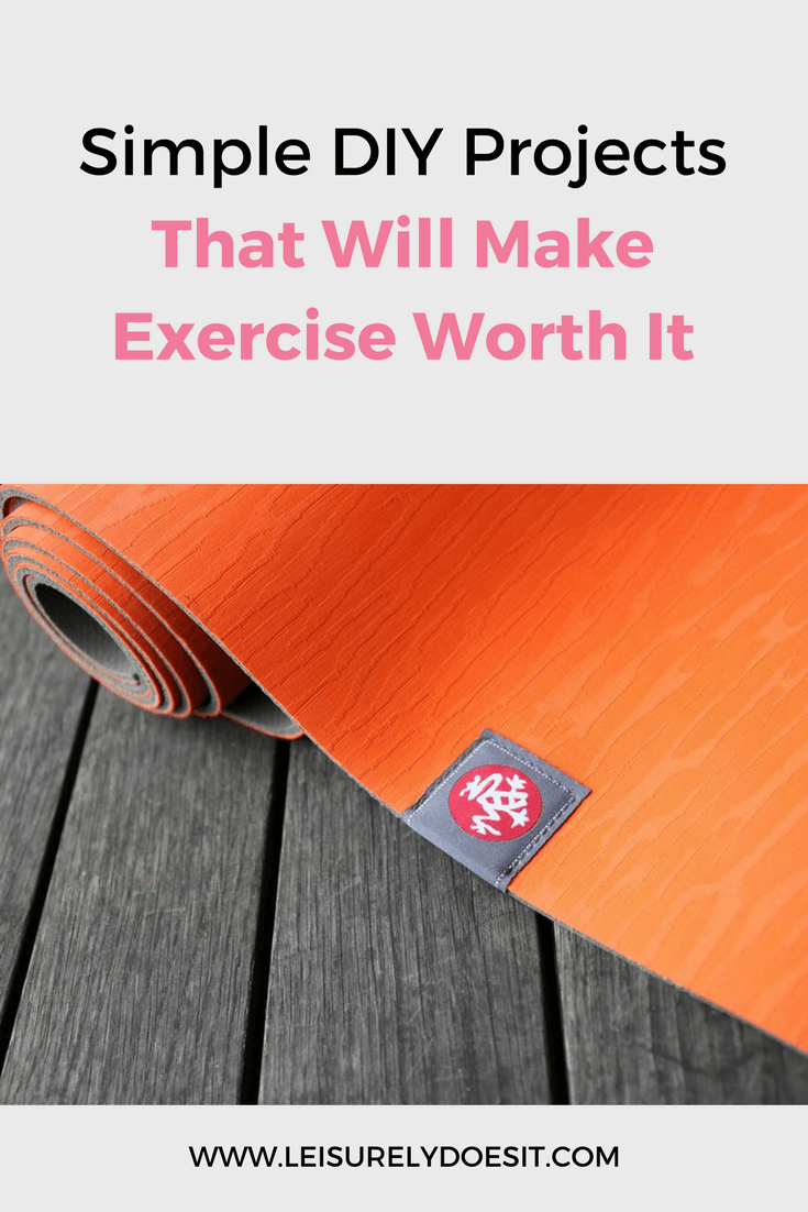If you're hitting the gym like so many others, you won't want to miss how to make your own yoga mat spray and DIY foam roller.