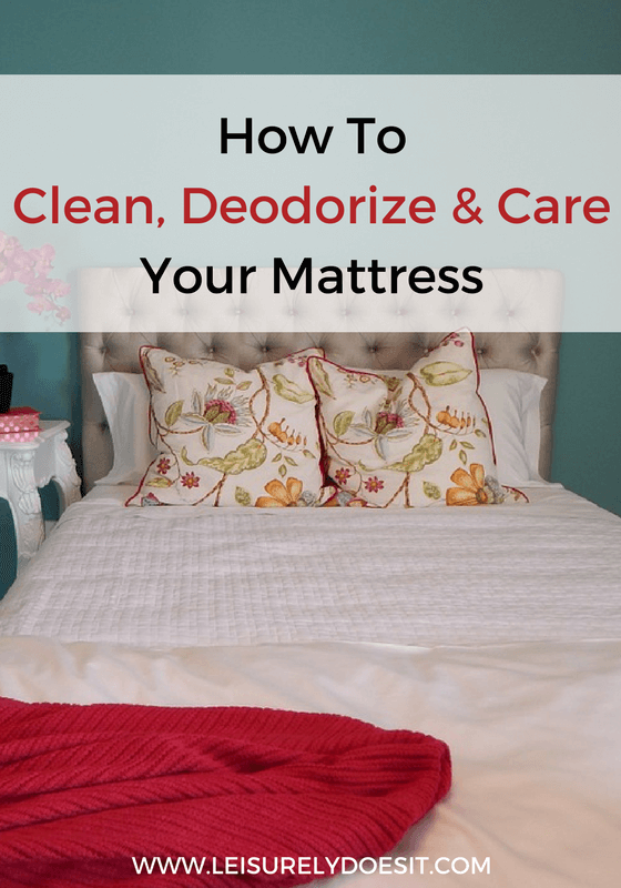 Your mattress can contain dirt, a build-up of body fluids and dust mites. Follow this guide to clean and care for your mattress so you can rest easy.