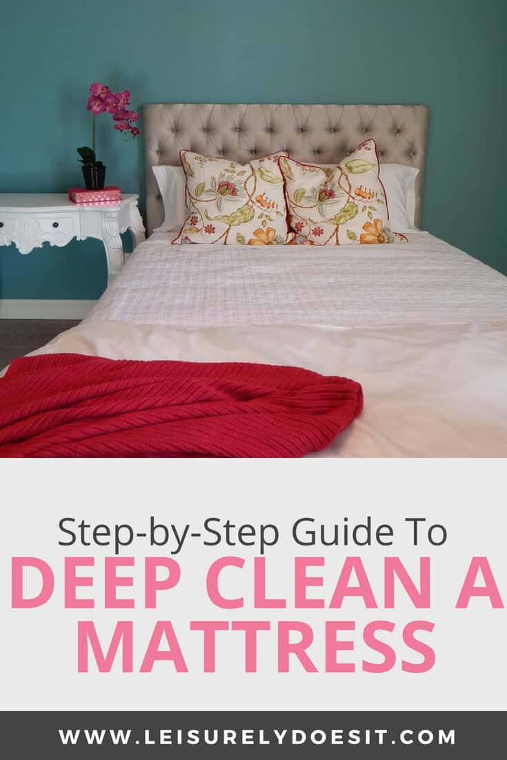 How To Deep Clean A Mattress And Deodorize It Leisurely