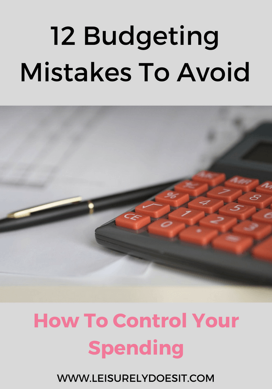 See the twelve budgeting mistakes that just might stop you from reaching financial freedom after you've created your financial plan. Click through to read the full post!