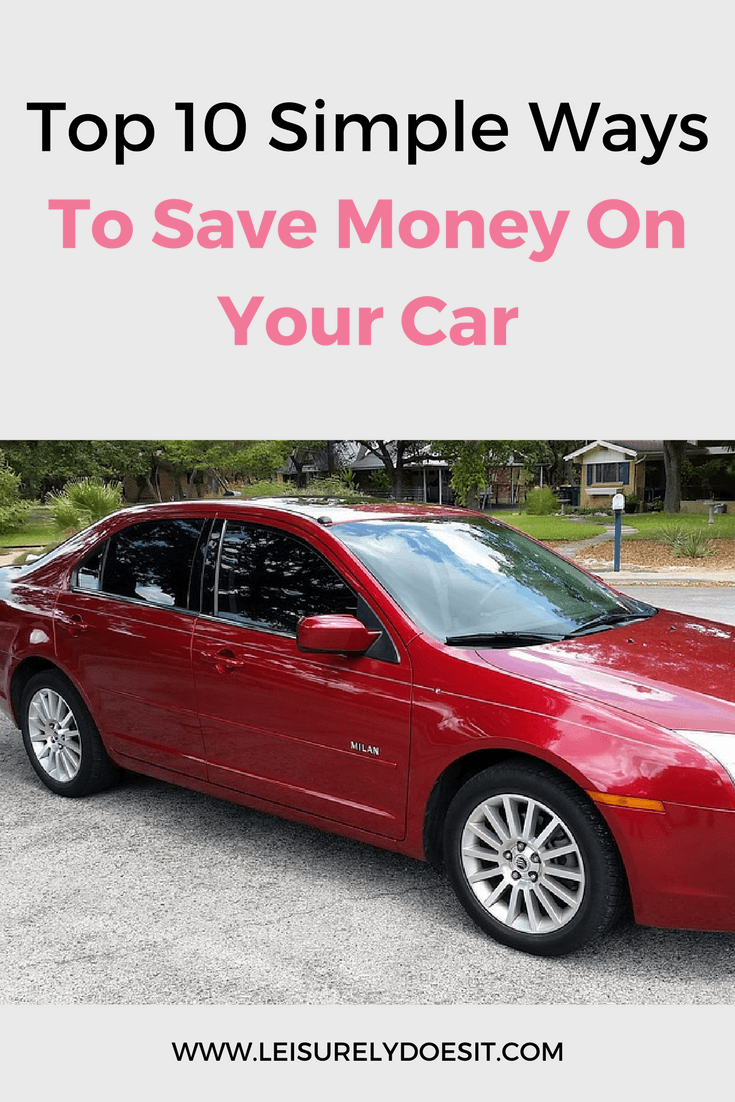 A car is usually the second most expensive item that you buy. Reduce the amount of money you need to spend on your vehicle with these simple tips.