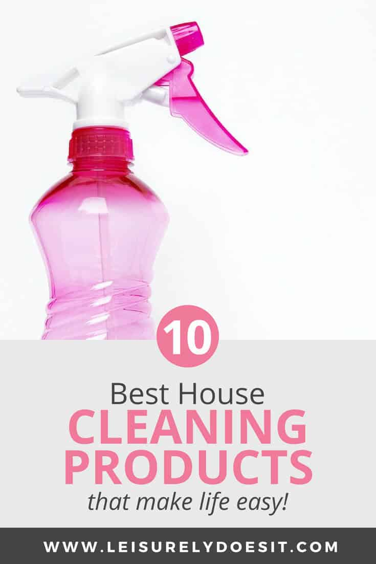 10 Best Cleaning Products For Your Home That Make Life Easy