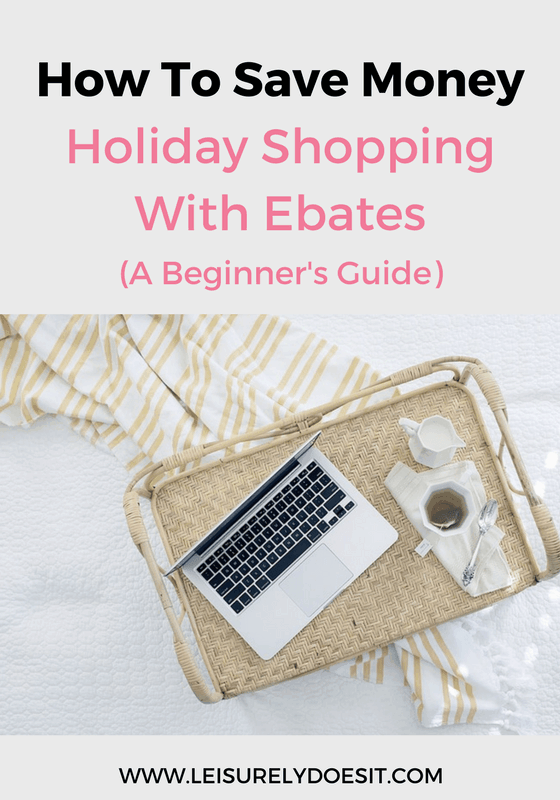 Who doesn't like saving money while they shop? I'll tell you all about how you can reduce your spending with the free service called Ebates.