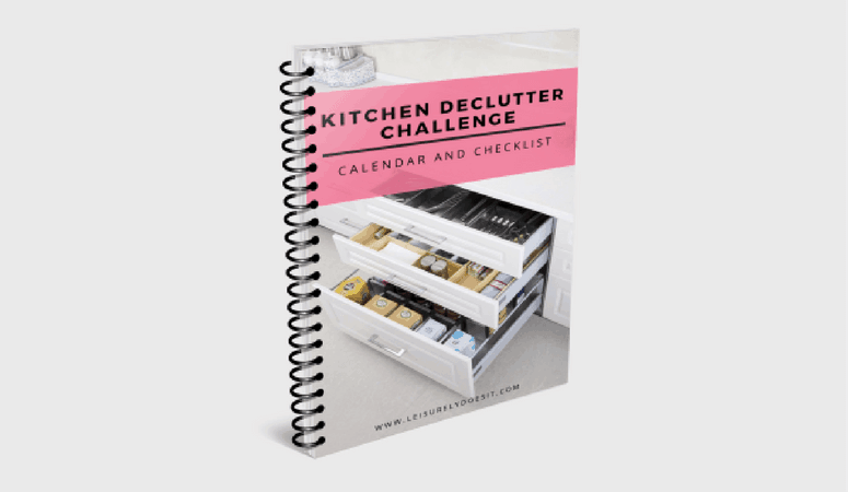 The 2018 Kitchen Declutter Challenge Is Here!