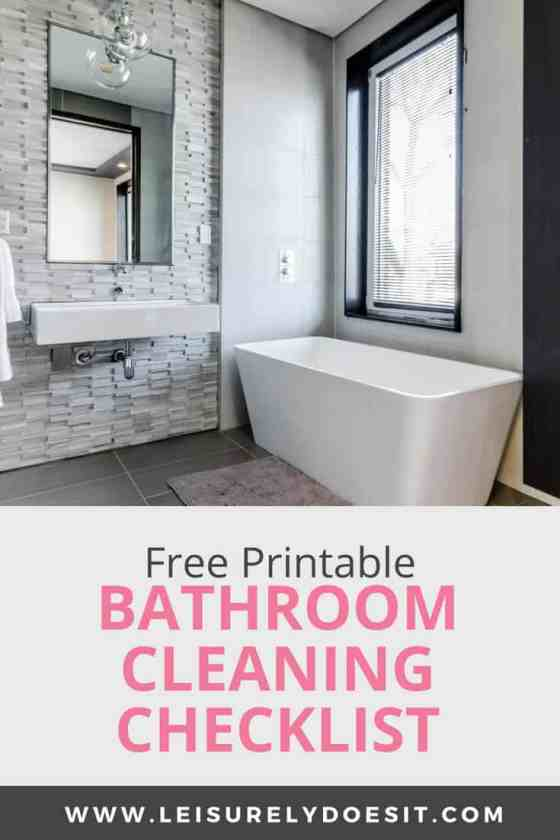 Save Your Relationship With This Free Bathroom Cleaning ...