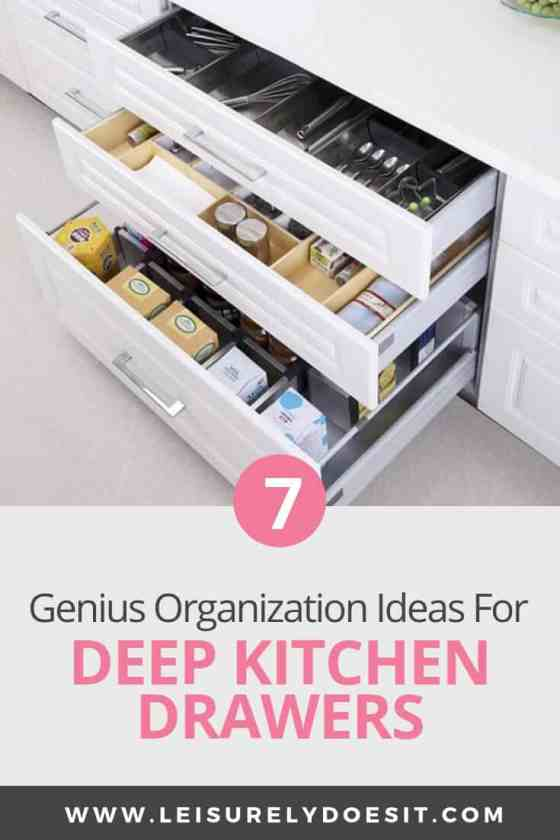 7 Amazing Deep Kitchen Drawer Organizer Ideas You Need To Know