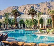 Riviera Palm Springs Mid Century Hotel Located