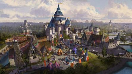 Designs unveiled for adventure medieval and fantasy zones at £2bn Paramount London development architects yet to be appointed Architecture and design news CLADglobal com
