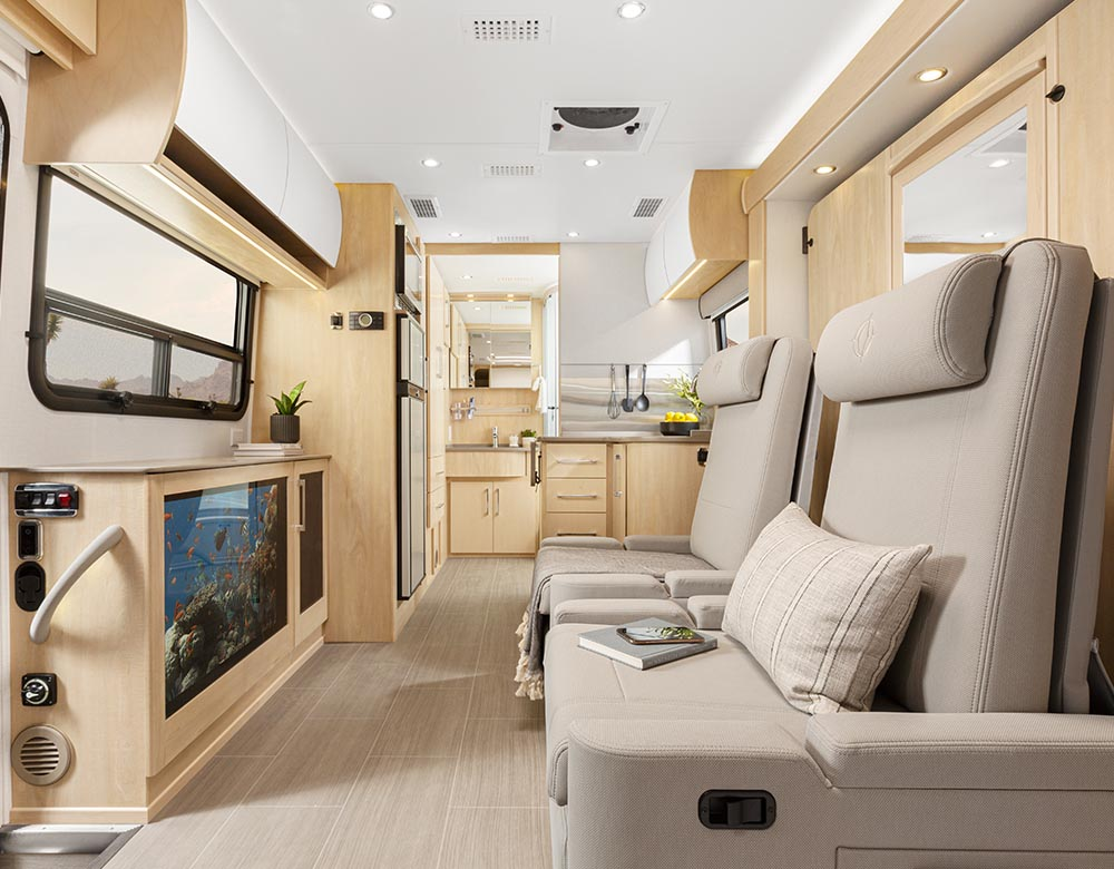 Unity  Features  Murphy Bed  Leisure Travel Vans