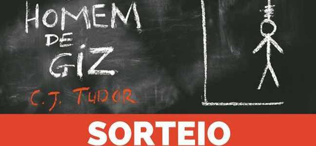 #Sorteio – O Homem de Giz