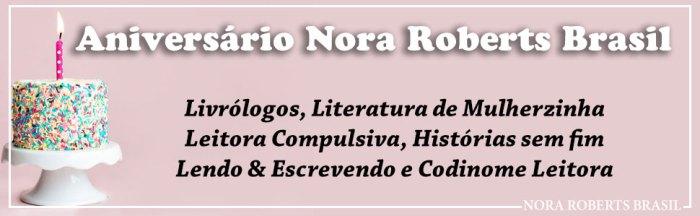 sorteio de aniversário nora roberts brasil