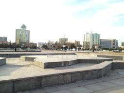Place - Tachkent. Grand espace.