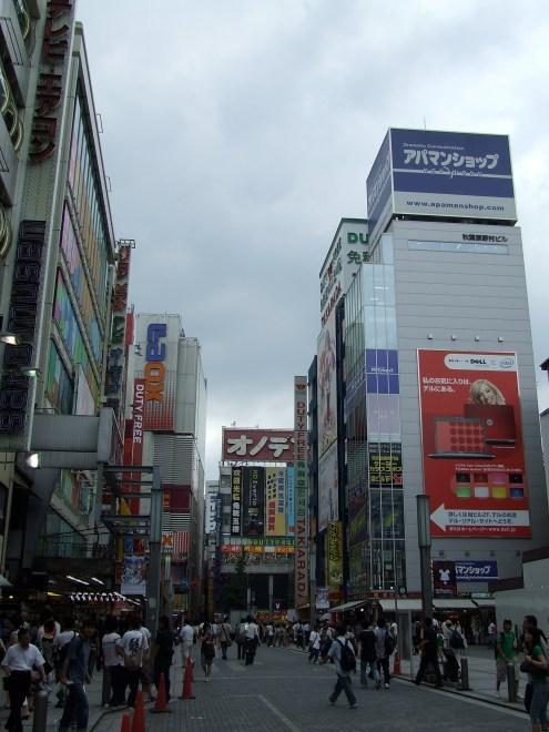 Akihabara rue principale en 2007