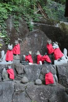 Gardiens, temple bouddhiste