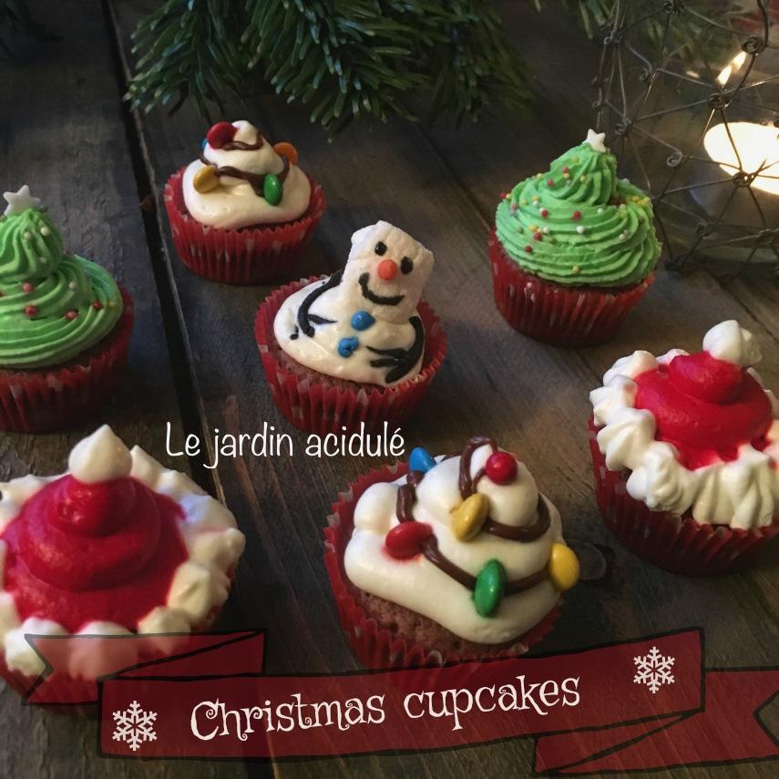 Christmas cupcakes - Les cupcakes de Noël