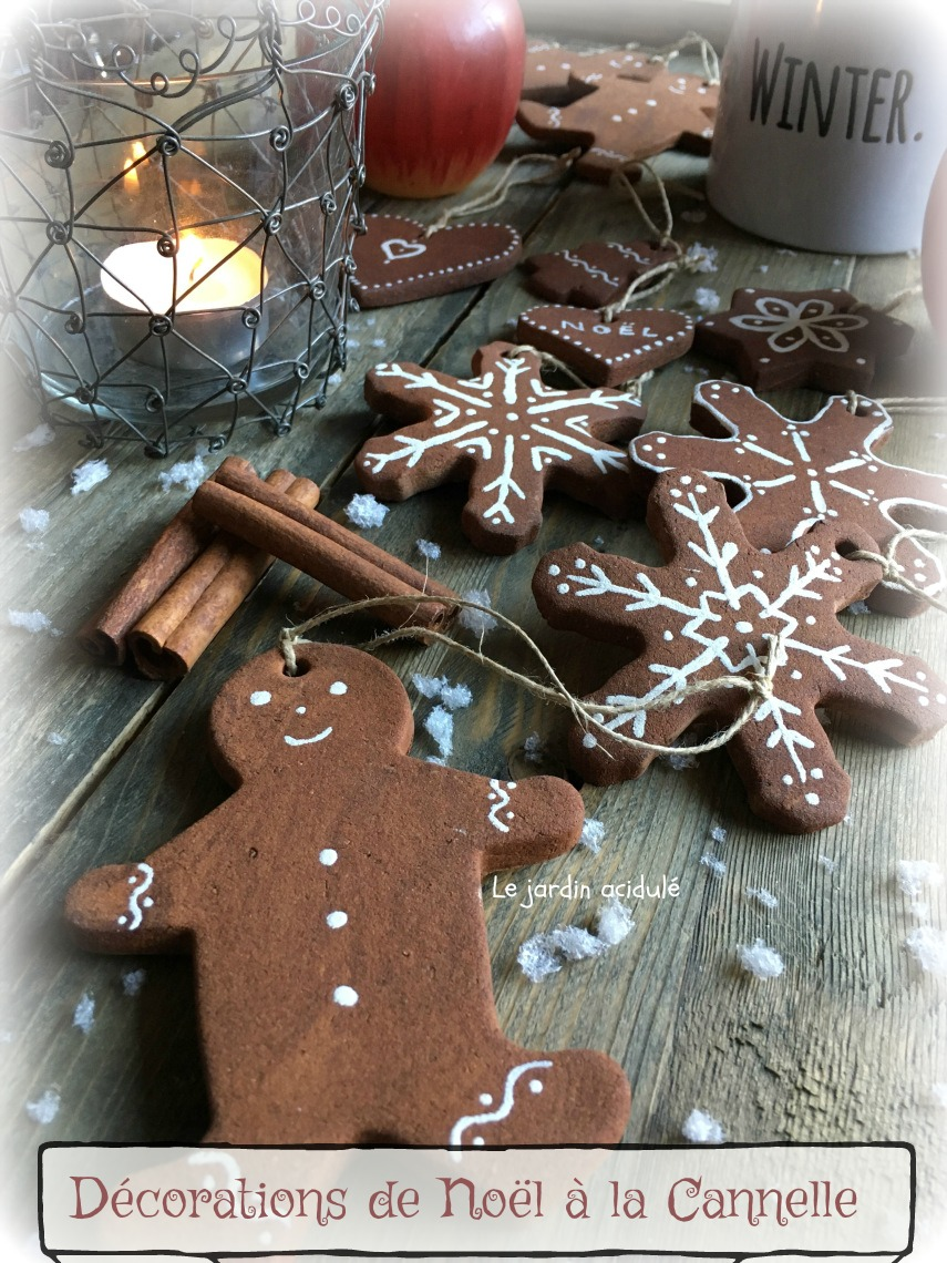 Décorations de Noël à la cannelle