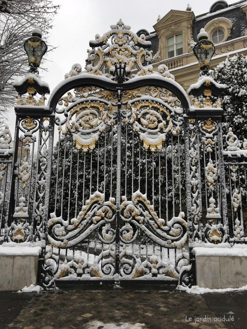 Paris neige 7