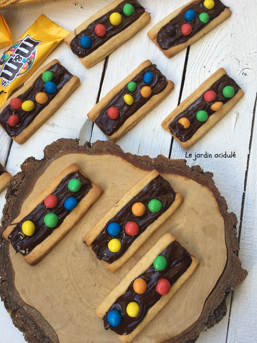 Biscuits aux M&M's