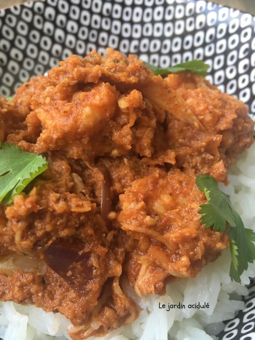 Crevettes à l'indienne