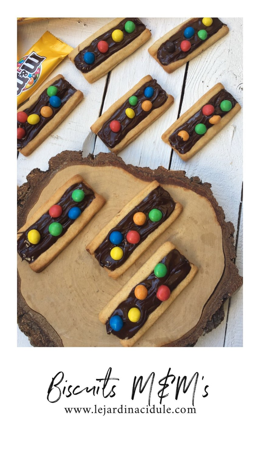 Biscuits M&M's