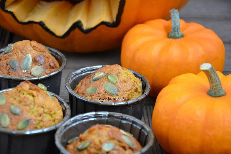 Muffin à la citrouille - Spicy pumpkin muffin