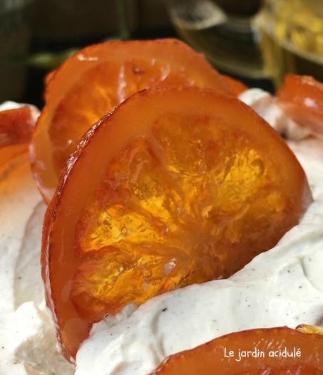 Comment faire des tranches d'oranges confites
