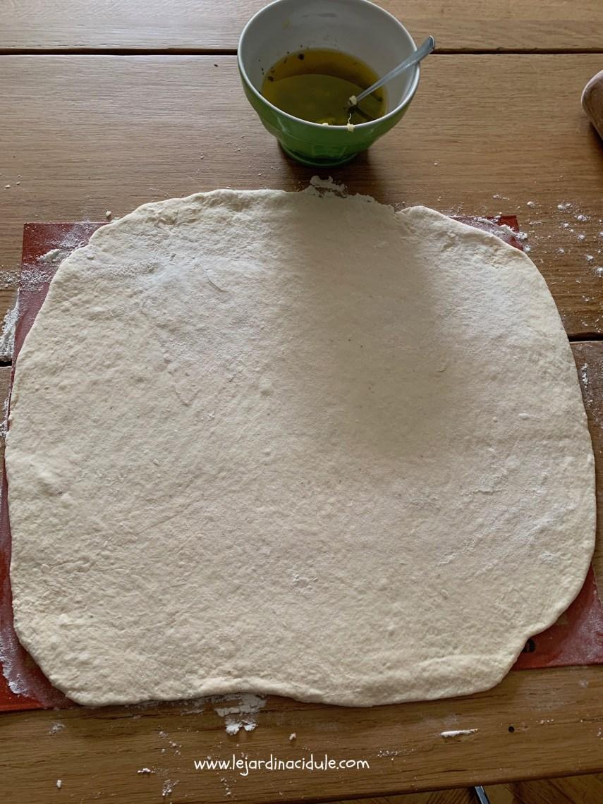 Pâte au yaourt et saint morêt