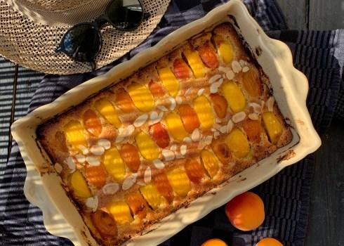 Tian à l'abricot et à la nectarine