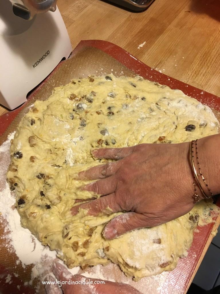 pâte panettone