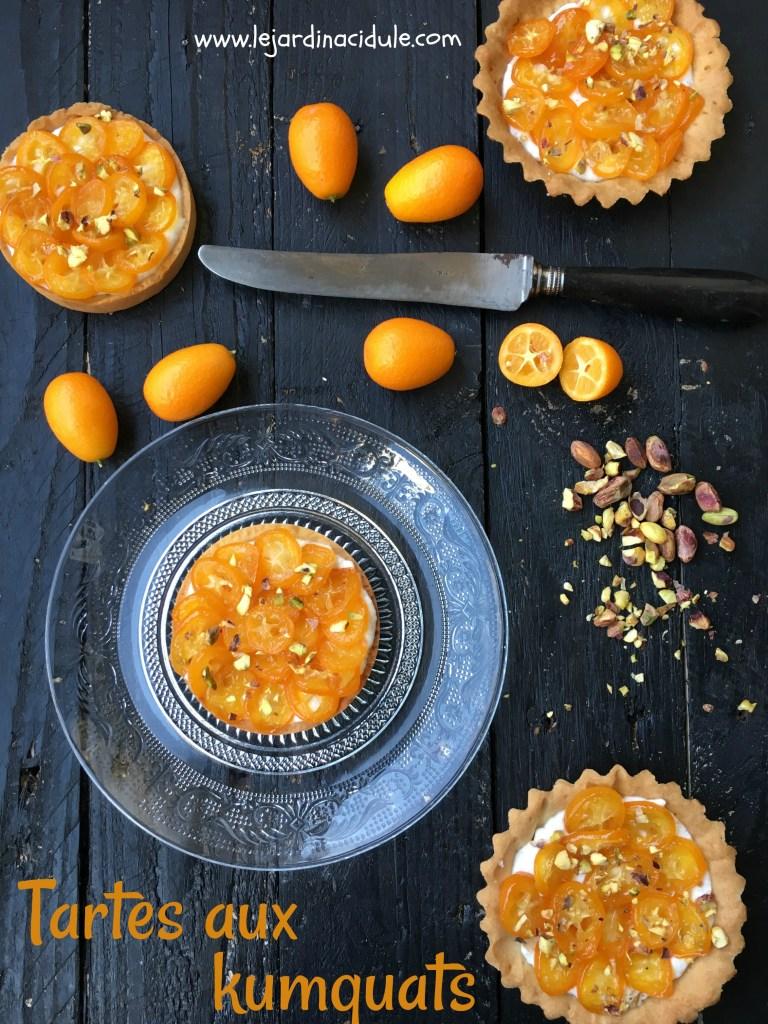 tarte aux kumquats