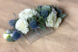 Le Jardin d Audrey-wedding_blue flower comb 2