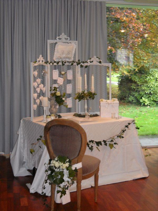 Dcoration venement mariage
