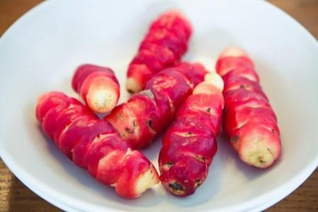 Des légumes sud américains