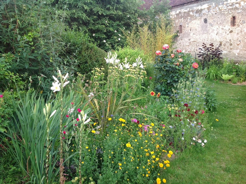 Cr er un massif de vivaces le jardin d 39 pices for Creer massif jardin