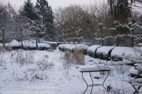 Le jardin sous la neige le jardin de sylvie fontaine blog - Les jardins de la lagune oualidia sylvie ...