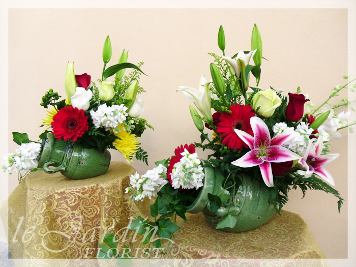Signature Flower Arrangements By Le Jardin Florist
