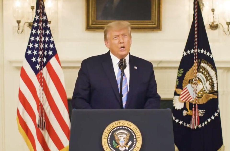 Donald trump reconnait sa défaite