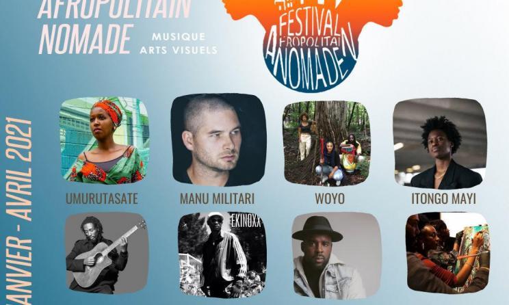 Prise de vue des musiciens Africains se trouvant en Europe