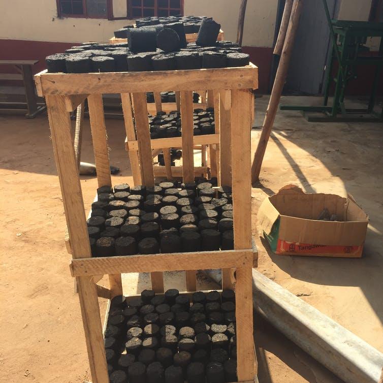 Briquettes combustibles