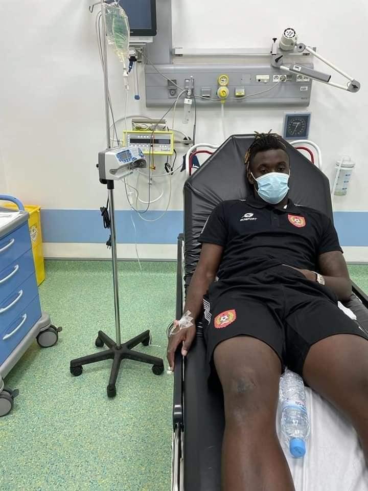 Un joueur de l'équipe de Football de la Guinée Bissau