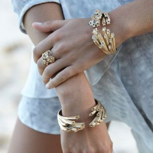 Bridal accessories, Bridal bracelets, Zoe and Morgan, fashion jewelry, rime arodaky