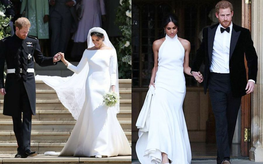 Royal wedding, long sleeve wedding dress, Meghan Markle wedding dress