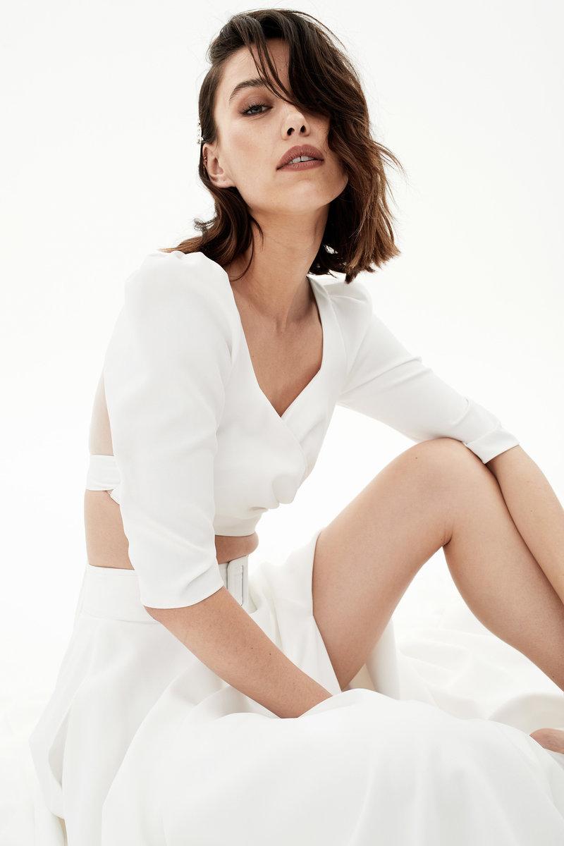 Rime Arodaky, French Bridal Couture, bridal two piece