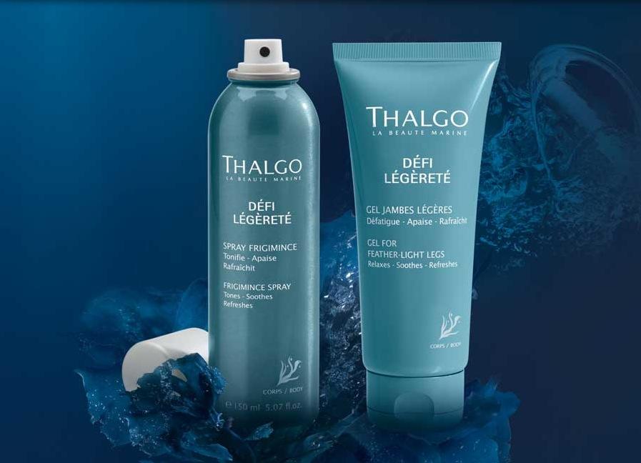 Solaires, jambes légères : les soins Thalgo pour un été au top ...