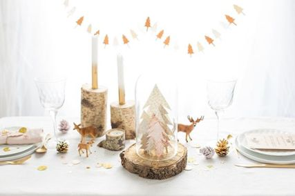 foret-enchantee-noel-table-pinterest