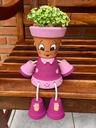 Fabriquer Des Personnages Avec Des Pots De Fleurs : fabriquer, personnages, fleurs, Idées, Relooker, Fleurs