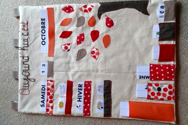 calendrier textile