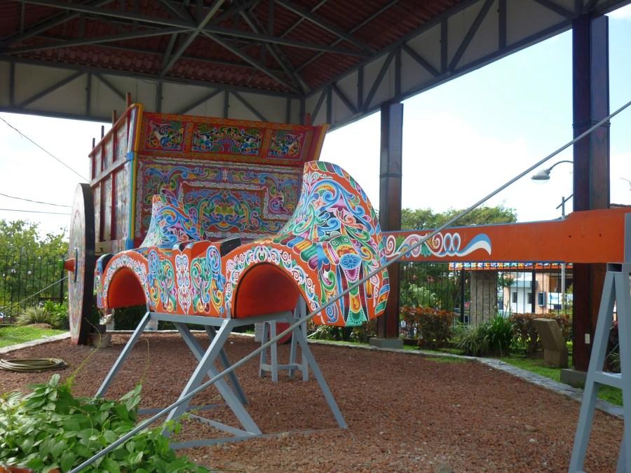 char à boeuf à Sarchi Costa Rica
