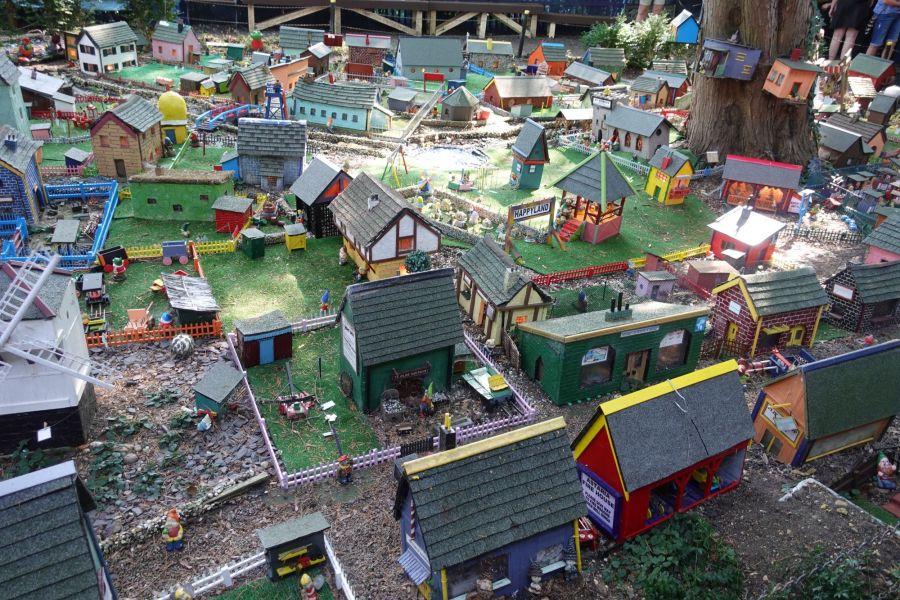 village miniature - maquette de maisons