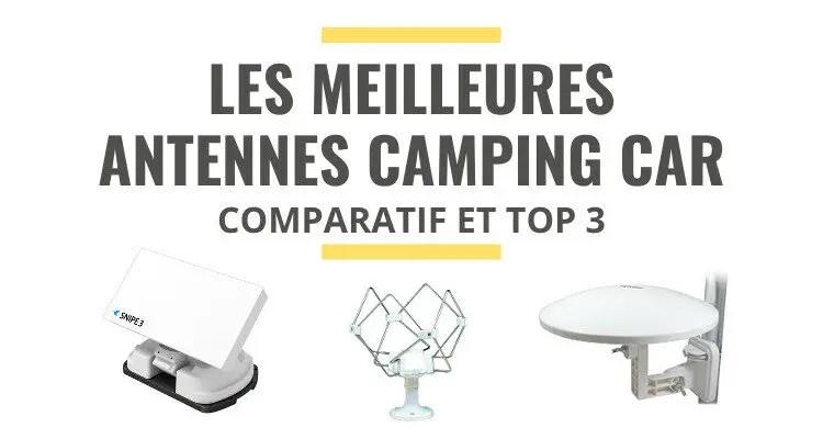 pour camping car comparatif